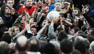 Ashbourne Shrovetide Football.