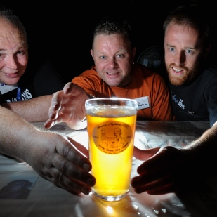 CAMRA beer festival.