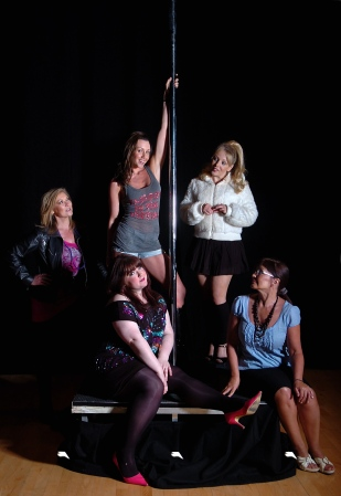 Claire Heaton, Julie Buckfield, Claire King, Leanne Jones and Maureen Nolan star in the Naked Truth.