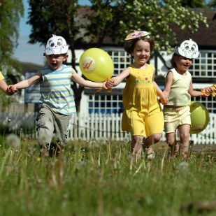 A waddle toddle event was held at The Old Forge Day Nursery in Findern to raise money for charity.