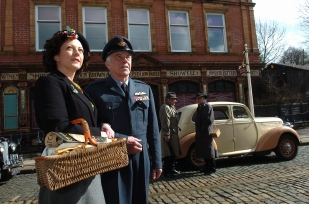 Crich Tramway Village 1940s weekend.