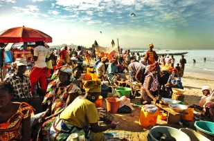 Tanji Fishing Village, The Gambia.