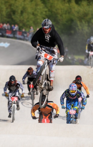 Josh Souto at Alvaston BMX races.