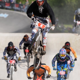 Josh Souto at Alvaston BMX races.