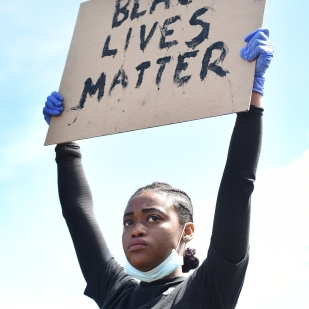 Black Lives Matter protests in Sheffield during the coronavirus pandemic